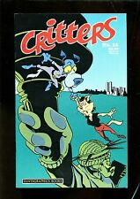 CRITTERS 22  (9.4) VARIANT COVER WATCHMEN PARODY  (b048)