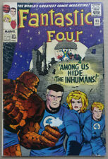 FANTASTIC FOUR #45 with 1st Appearance of 'THE INHUMANS', 1965!!