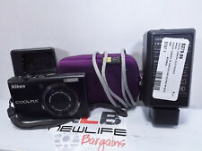 Nikon Coolpix S570 Digital Camera TESTED With Case & Charger