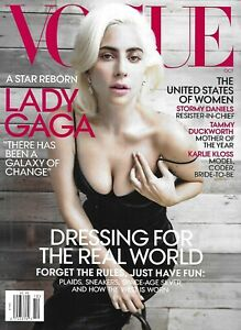 Vogue Magazine Lady Gaga Stormy Daniels Tammy Duckworth Karlie Kloss Gigi Hadid