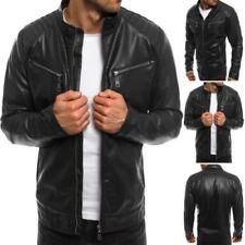 Manteaux et vestes motards polyester pour homme