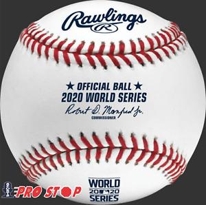 2020 Rawlings Official WORLD SERIES Baseball - boxed