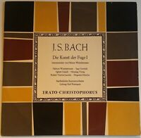 Bach The Art of Fugue 1 Winschermann Ristenpart Erato Christopherus CGLP 75 841