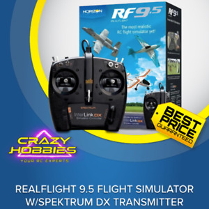 RealFlight RF9.5 Flight Simulator w/Spektrum DX Transmitter *IN STOCK*