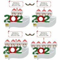 2020 Xmas Christmas Hanging Ornaments Family Personalized Ornament Santa Claus
