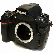 Nikon D700 12.1Mp Digital Slr Camera Black Body Full-Frame Excellent Japan F/S