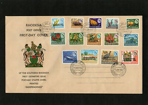 RHODESIA SOUTHERN - 1966 - INDEPENDENCE - FIRST DAY COVER - WITH SALISBURY CDS
