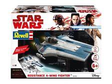 REVELL Star Wars COSTRUZIONE & Gioco Resistance A-wing fighter, Blu 1:44