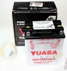HONDA CB350 CL350 CB450 CL450 CB360 CB400F CB500T 12N12A-4A-1 YUASA BATTERY