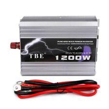 Convertisseur pur sinus  de 1200 watt/2400 watt crete en 12 volt pour 220v NEUF