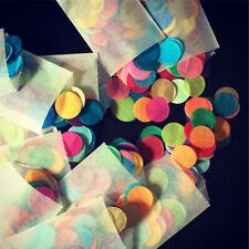 1000PC / Paquet ignifugé Table papier confettis Party Décor de mariage CW