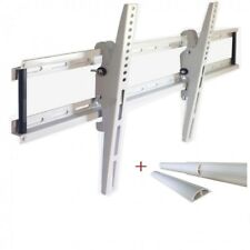 TV Wandhalterung LED LCD Halterung neigbar kippbar, 32 - 70 Zoll, bis 90kg, Weiß
