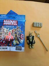Marvel Mega Bloks Series 2 Loki figure *NEW* L1