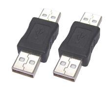 New USB 2.0 A mâle à mâle M/M Adaptateur Convertisseur Connecteur Menuisier Coupleur Câble