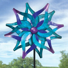 Bits and Pieces Blue Delphinium Wind Spinner $89 SOLD OUT