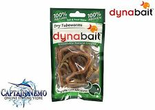 3 X Dynabait Dry Tubeworms - 100 Natural 100 Proven * 5 Gram Packets *