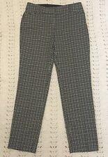 ZAC & RACHEL Pants Geometric prints Black White Work Casual Size 8