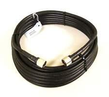 LMR 400 Equivalent Coax Cable - 30 Feet, Pre-Cut, N-Male Connectors (TS340030)