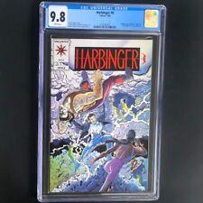 Harbinger #0 (Valiant 1992) 💥 CGC 9.8 WHITE Pages 💥 Blue Cover Variant Comic