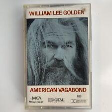 William Lee Golden American Vagabond (Cassette)