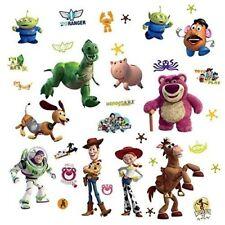 Disney 34 BiG TOY STORY 3 Wall Stickers Room Decor Decal BUZZ WOODY Glow in Dark
