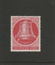 GERMANY - BERLIN - 1951 - 20PF FREEDOM BELL - CLAPPER TO LEFT - UM / MNH