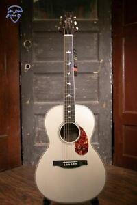 PRS SE P20E Antique White Parlor Acoustic Guitar