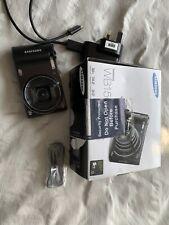Samsung WB150F 14.2MP Digital Camera 18X Zoom UK Charger SCHNEIDER Lens Boxed