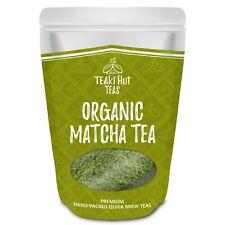 Teaki Hut Matcha Green Tea Powder Organic 100% Pure Ceremonial Grade Premium