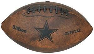 Dallas Cowboys NFL Football Vintage Throwback - 9 Inches