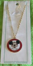 NICE RARE VINTAGE DISNEY MICKEY MOUSE CLUB LARGER PENDANT NECKLACE