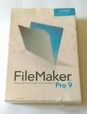 NEW Filemaker Pro 9 UPGRADE Sealed Windows Mac
