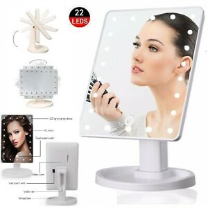 22 LED VANITY MIRROR 10X MAGNIFYING MAKEUP COSMETIC LIGHTS DRESSING TABLE TOUCH