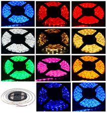 EK RGB/Warm White/Red/Green/Blue/Purple 5M 3528 SMD 300 LED Strip Lights DC 12V