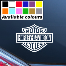 HARLEY DAVIDSON LOGO CAR WINDOW BUMPER STICKER VINYL DECAL