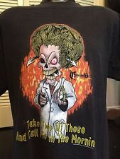 VTG 98 Cypress Hill Tour Shirt Sz XL Thug Rap Hip Hop R&B Soul Tupac Pain NWA