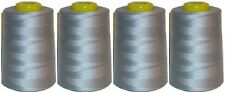 TOP QUALITY SEWING THREAD 120s SPUN POLYESTER, OVERLOCKING 5000 YRDS X 4 CONES