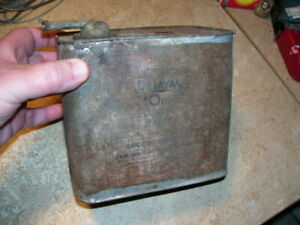 Antique Vintage Delaval Cream Separator Oil Can