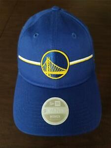 New Era Cap Golden State Warriors 9Twenty women adjustable blue & yellow hat NEW