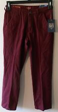 NWT Dockers Boys Alpha Collection Slim Tapered Pants 16 Red Dust MSRP$42
