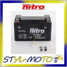 YT7B-4 = YT7B-BS BATTERIA BATTERY NITRO AGM GEL YAMAHA YP 250DX MAJESTY 1999
