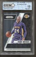 2017-18 Kobe Bryant Prizm Fundamentals #2 Gem Mint 10 LA Lakers MVP HOF