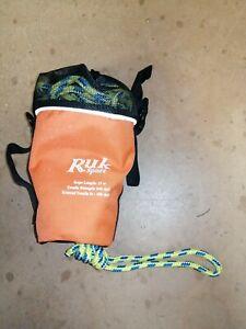 RUK SAFETY THROW ROPE 15M CANOE KAYAK SUP THROWLINE RESCUE