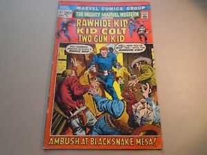THE MIGHTY MARVEL WESTERN #17 Rawhide Two-Gun Kid Colt Marvel Comics 1972 VG