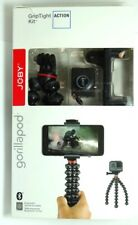 JOBY GripTight Action Kit Tripod with Bluetooth remote shutter - Red/Gray/Black