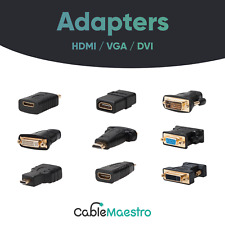 Video Adapters HDMI to Micro-HDMI / HDMI to DVI / VGA to DVI / Mini-HDMI to HDMI