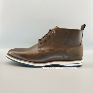 Guess Chukka Leather Men's Lightweight Ankle Boots Brown - Size 9.5