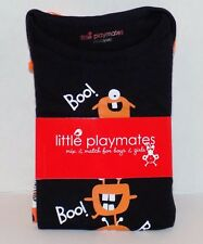 NEW Little Playmates Baby 2 Pack Halloween Boo! Creepers Bodysuits, 3,6,9 Months