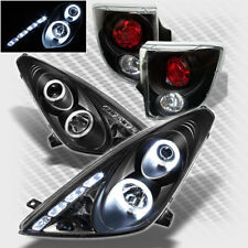 For 00-05 Toyota Celica Twin Halo LED Projector Headlights+Tail Lamp Head Light