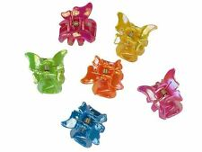 Mini Bright Butterfly Hair Claw Clips